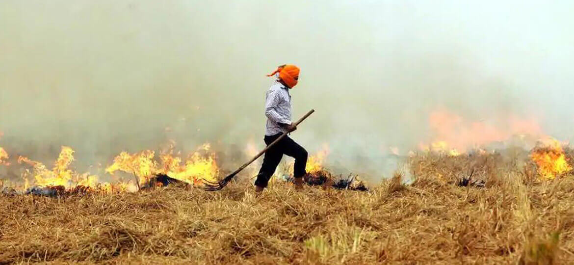 How far can you blame Agriculture for rising ambient air pollution in India?